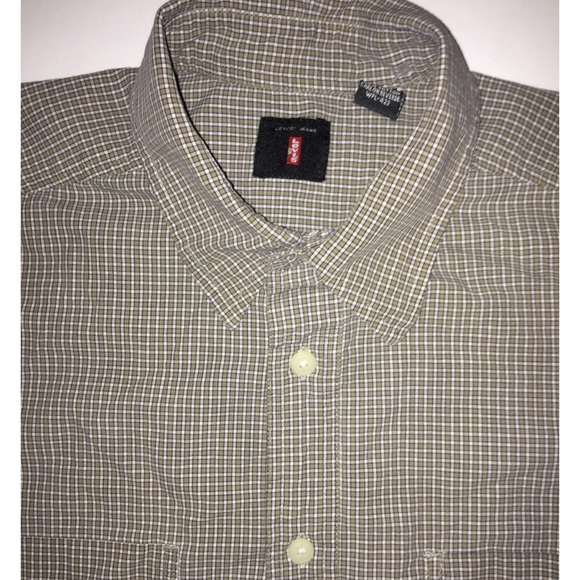 Levi's Other - LEVI'S Tattersall Print Button Up Shirt